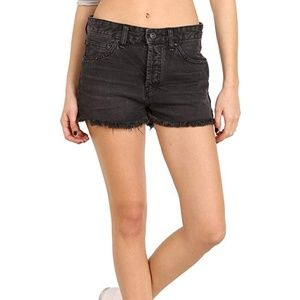 NWOT Free People Faded Frayed Hem Shorts sz. 25